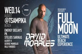 Full Moon Ultimate Beach Experience with David Morales
